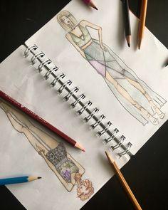 Мои девочки. Фешн иллюстрация. Мода. Fashion illustration