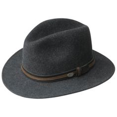 Bailey Brandt - Wool Fedora Hat e02d94df330a