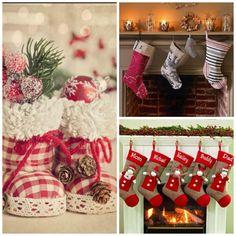 Decoración navideña: Calcetín de navidad -