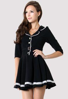 pleats + circle skirt