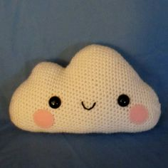 Happy Amigurumi Cloud Crochet Pattern