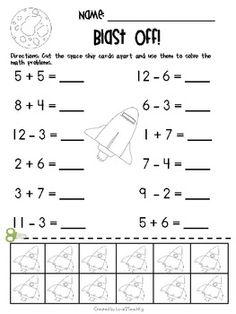 math worksheet : subtraction math worksheets for kindergarten  school  pinterest  : Subtraction And Addition Worksheets