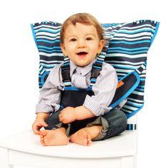 My Little Seat Travel Highchair - Hudson Stripe