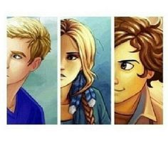 Jason Grace Piper Mclean Leo Valdez- I'm normally pretty picky about fan art, but I really like this one!
