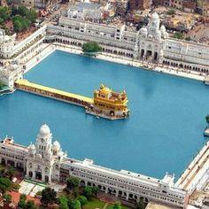 Golden temple...vue d'en haut Amritsar, India