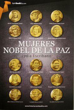 Mujeres Nobel de la Paz / Lydia Escribano. + info: http://www.womenalia.com/es/hoy-en-womenalia/135-actualidad/4658-conoces-a-las-quince-mujeres-que-han-ganado-el-premio-nobel-de-la-paz