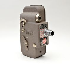 Mansfield Model 106 16MM Vintage Movie Camera with Cinepar 1 Inch f1.9 C-Mount Lens by vtgwoo on Etsy