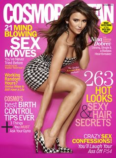 Nina Dobrev is our September cover girl!