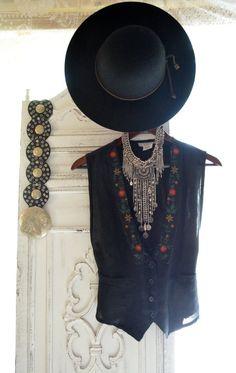 Coachella vest Bohemian music festival by TrueRebelClothing