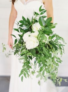 Leafy perfection: http://www.stylemepretty.com/collection/2940/