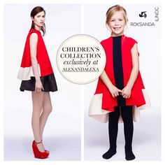 Designer to watch, Roksanda Ilincic, launches a playful new line for children