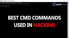 Today we are going to share top CMD or MS-DOS commands which you must know if you want to be a hacker. Go through the post to discover the commands.