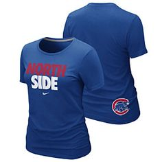 Get this Chicago Cubs Ladies North Side Local Premium T-Shirt at WrigleyvilleSports.com