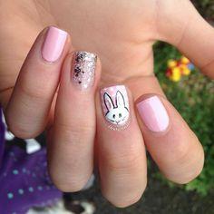 __instanails__ easter #nail #nails #nailart