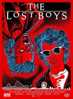 Jason Patric, The Lost Boys 1987, Richard Donner, Corey Haim, Corey Feldman, Salman Rushdie, Kiefer Sutherland, Horror Artwork, Best Novels