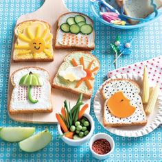 ISSUU - Marie claire idees hors serie juin 2015 by prima Cooking With Kids, Fun Cooking, Breakfast For Kids, Baby Birthday, Bento, Creative Food, Marie Claire, Kids Meals, Tea Time