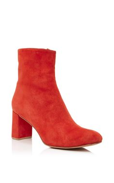 Agnes Suede Ankle Boots by MARYAM NASSIR ZADEH Now Available on Moda Operandi