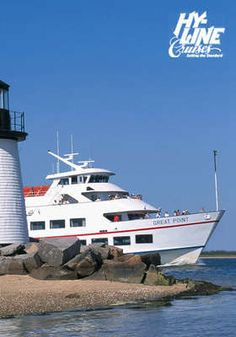 2 days left - Hy-Line Cruises, 1st class round trip ferry tickets for two, Hyannis to Nantucket $56