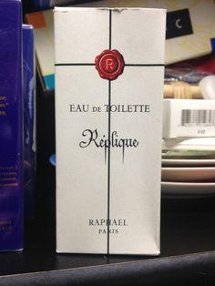 VINTAGE 2 OZ. REPLIQUE RAPHAEL PARIS EAU DE TOILETTE EDT SPLASH IN ORIGINAL BOX #Raphael