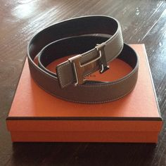 A brown Hermes Belt should be on your Wardrobe Bucket List. MUST!