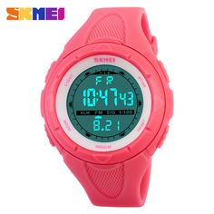 Low Price $8.30, Buy Skmei Brand Fashion Casual Women's Watch Waterproof LED Digital Sports Watches For Boys Girl Outdoor Sport Wristwatches
