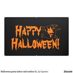 Halloween party indoor and outdoor decor banners