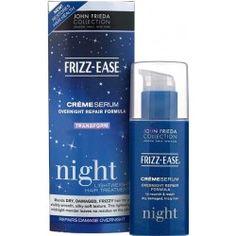 John Frieda Frizz Ease Creme Serum Overnight Repair Formula 50 ml