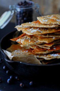 Kotitekoinen näkkileipä. Ihanan rapsakka herkku. Pancakes, Tacos, Koti, Breakfast, Ethnic Recipes, Morning Coffee, Pancake, Morning Breakfast, Crepes