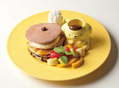 「ポムポムプリンカフェ」が原宿にグランドオープン!パンケーキやマンゴーパフェなど