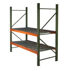 "Husky Rack & Wire Pallet Two Shelf Shelving Unit Starter Size: 96"" H x 126"" W x 42"" D"