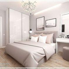 Welchen Raum in diesem Projekt magst du mehr? - Which room in this p Room Ideas Bedroom, Small Room Bedroom, Home Decor Bedroom, Small Modern Bedroom, Gold Bedroom, Bedroom Kids, Stylish Bedroom, Home Room Design, Design Bedroom