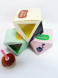 Cupcake Packaging Design on Behance