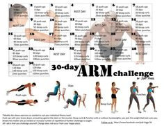 30 day arm challenge | 30 Day Arm Challenge – Are You Up For It ? | Piper's Run