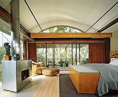 This is really hot.  Demi Moore's bedroom reminds me of a villa in the South Pacific.