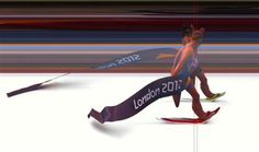 Nicola Spirig of Switzerland is seen defeating Lisa Norden of Sweden (front) in this photo finish handout image of the women's triathlon final of the London 2012 Olympic Games at Hyde Park August 4, 2012.  REUTERS/Omega Ltd/Handout - http://www.PaulFDavis.com/success-speaker (info@PaulFDavis.com)