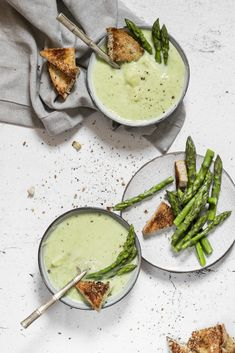 CREAMY AF Soup. Spri