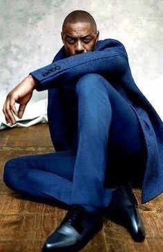 Idris Elba is absolutely sublime! Idris ELba photographed by Robbie Fimmano for Maxim Magazine Idris Elba, Actor Idris, Man Up, Dapper Men, Raining Men, Well Dressed Men, Classic Man, Models, Nelson Mandela