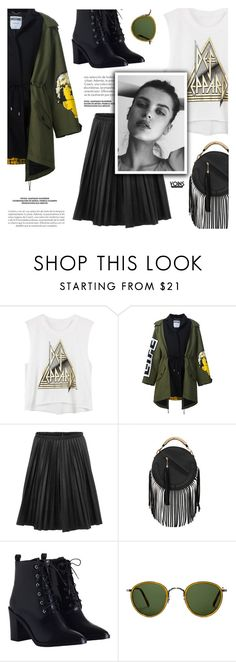 """""""Yoins"""" by defivirda on Polyvore featuring Moschino, Zimmermann, GE and Oliver Peoples"""