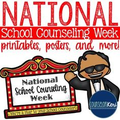 Get Ready For National School Counseling Week - The Middle School Counselor National School Counseling Week, Middle School Counseling, Elementary School Counselor, Counseling Office, School Psychology, Employee Appreciation, Appreciation Gifts, Service Club, Hollywood Theme