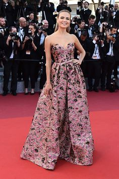 Natasha Poly - 2016 Cannes Red Carpet's Best-Dressed Celebrities