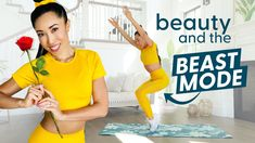 When you need a Disney workout, this Disney Princess Belle workout is going to be your dream come true! Try this beast mode workout inspired by the beast and Belle from Beauty and the Beast. For more workout videos, fitness inspiration, and health motivation, check out Blogilates! Blogilates, Disney Workout, Belle And Beast, Workout At Work, Get Toned, Beast Mode, Body Weight, Fat Burning Workout, Beauty And The Beast