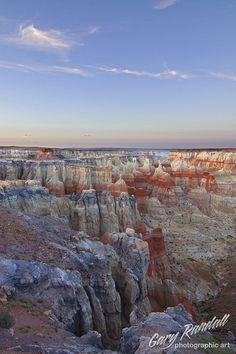 Coal Mine Canyon near Tuba City, Arizona; photo by Gary Randall