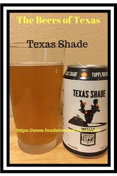 A review of Texas Shade Wheat Beer. Brewed by Tupps Brewery in Mckinney Texas. This is a continuation of my series on the craft brewed beers from the Lone Star State.