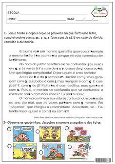 SOS PROFESSOR-ATIVIDADES: Sequênciar texto