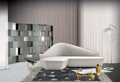Low coffee table SERENO - Driade