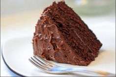 Everyone loves chocolate cake, and this two-layer chocolate cake recipe is a true classic. We bloom the cocoa powder for extra-rich chocolate flavor.