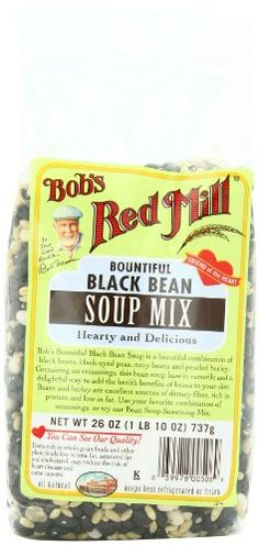 Bob's Red Mill Bountiful Black Bean Soup Mix, « Lolly Mahoney
