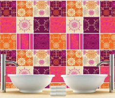 Cucina Alzatina Patchwork indiano rivestimenti adesivi