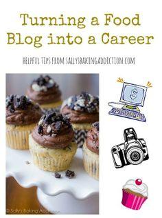 How I Turned my Food Blog into a Career