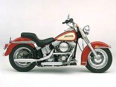 Harley-Davidson Museum Shop - FLST Heritage Softail : Posters and Framed Art Prints Available Harley Softail, Harley Davidson Fatboy, Harley Davidson Motorcycles, Harley Davison, Road King Classic, American Motorcycles, Harley Bikes, Motorcycle Garage, Bike Design